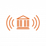 Orange Bank Icon